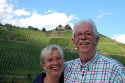 Angela und Paul Simon